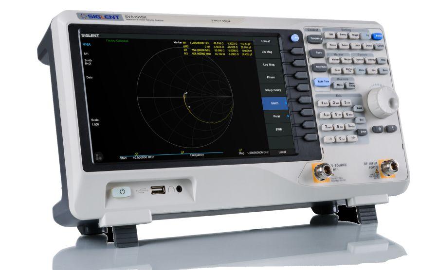 Analizador de espectros y de redes vectoriales SIGLET SVA1000X