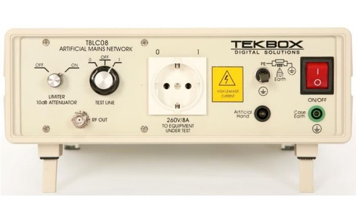 LISN monofásica TEKBOX TBLC08