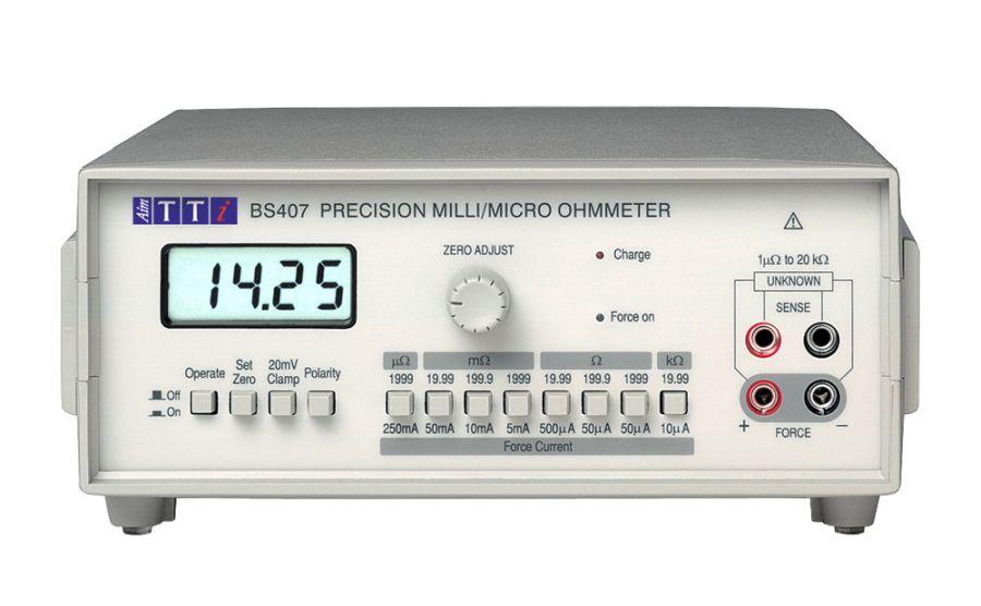 Micróhmetro TTI BS407