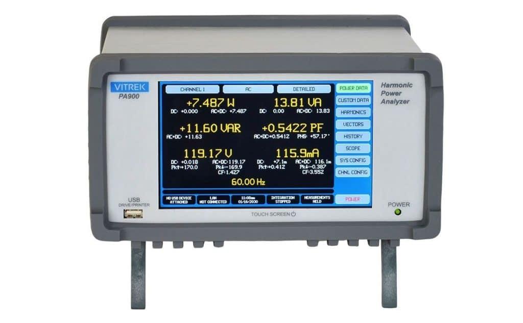 Analizador de potencia VITREK PA900