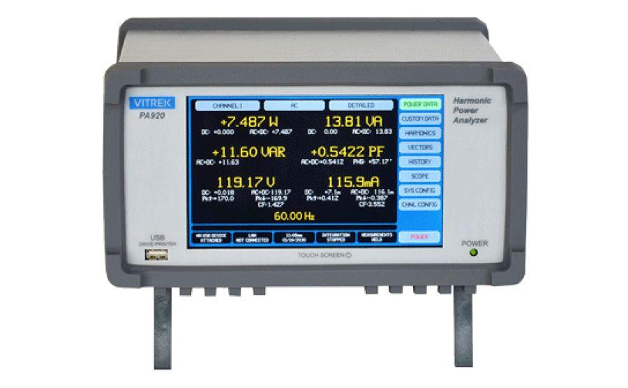 Analizador de potencia VITREK PA920